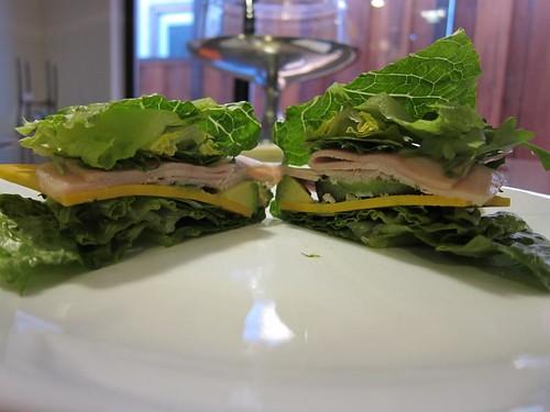 letttuce, romaine, sandwich, turkey IMG_5403