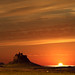Lindisfarne Castle Sunrise by Neil@photos dot com