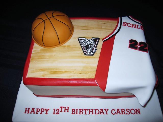 Basketball birthday cake flickr photo sharing