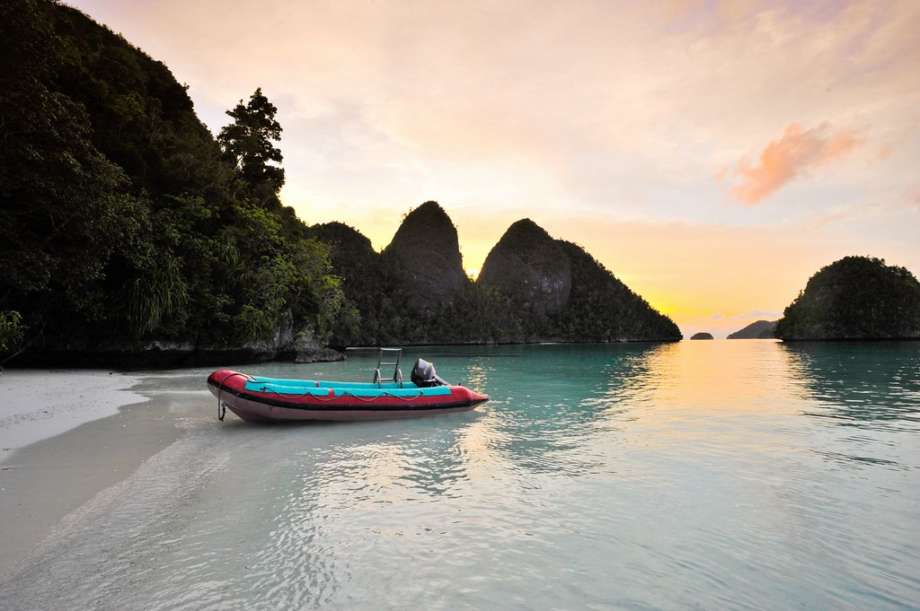 Sunset in Raja Ampat