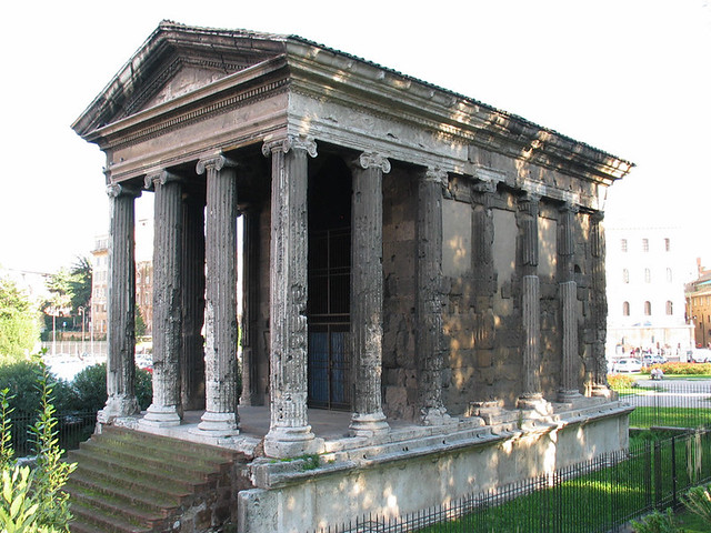 Temple of Portunus, Rome | Flickr - Photo Sharing!