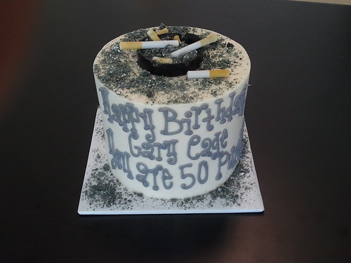 Cigarette Ashes Cake