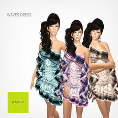 Kazou - Waves Dress