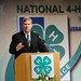 Agriculture Secretary Tom Vilsack talks with National 4-H Conference