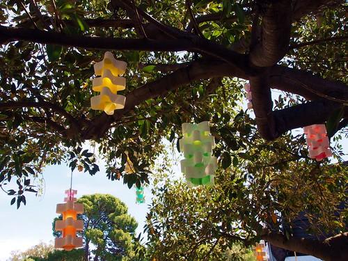 216 lanterns daytime
