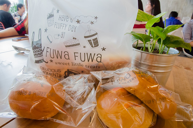 Fuwa Fuwa Bakery Cafe at The School Jaya One, Seksyen 13, Petaling Jaya.