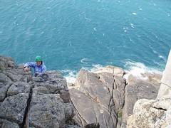 Climbing: Cornwall (16-Apr-08) Image