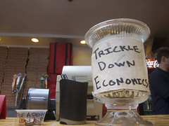 Reaganomic tip jar.