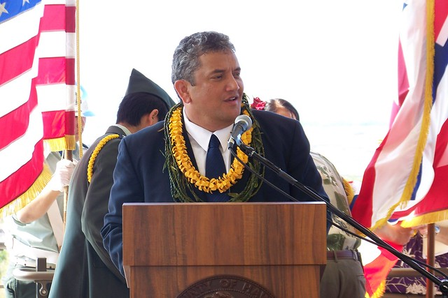 Hawaii mayor Billy Kenoi
