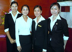 Front Desk Staff @ Saigon Continental Hotel