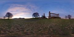 Sunrise on Calton Hill (1)