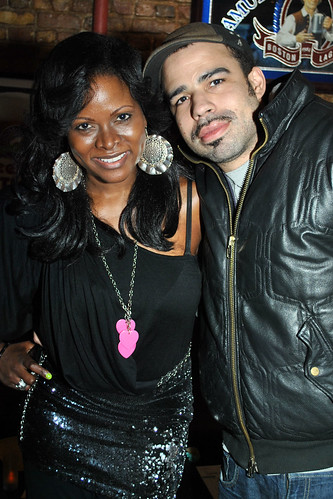 Abiola & Casey  at Ab's MTV Made Ladies Man Party