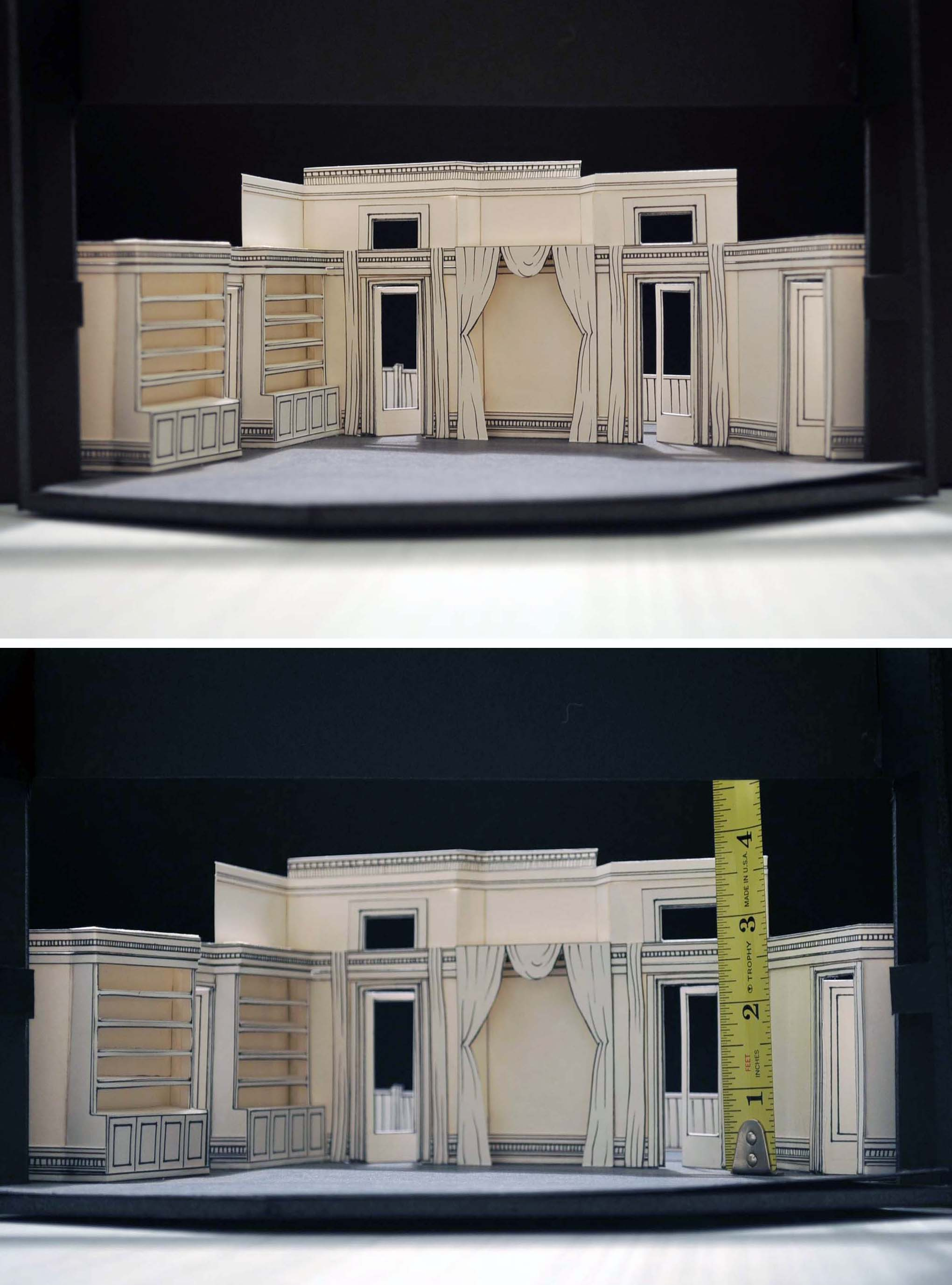 "set design for ""cat on a hot tin roof""dunhamke, via flickr"