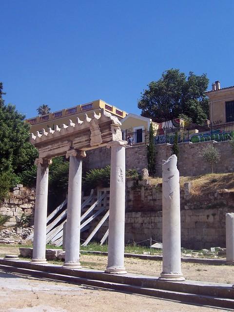 The East Propylon, The Roman Forum (Athens)