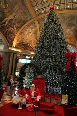 Santa at Galerías Pacífico