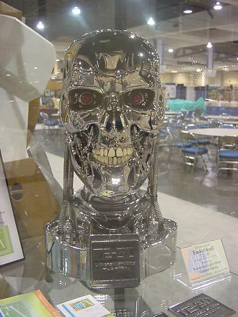 Terminator Endoskeleton Skull