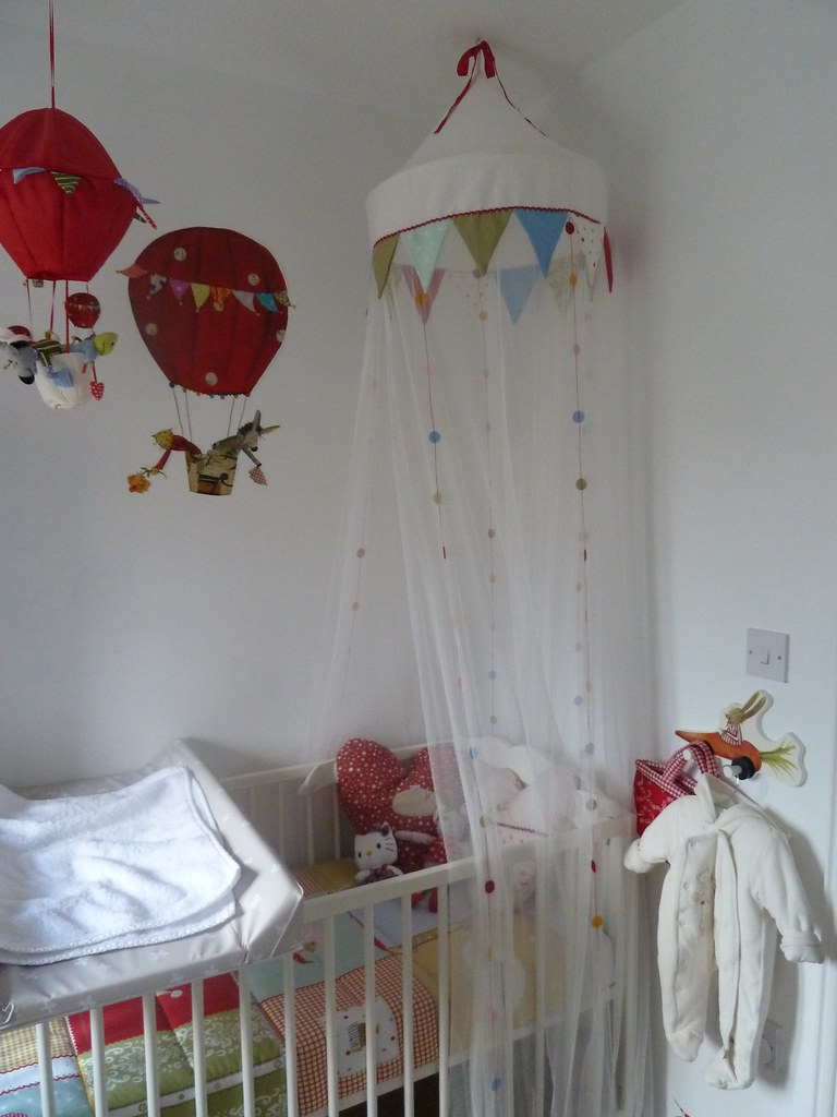 Bed canopy and cot & Bed canopy and cot | David Loudon | Flickr