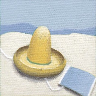 Painting Detail (Sombrero), 2011