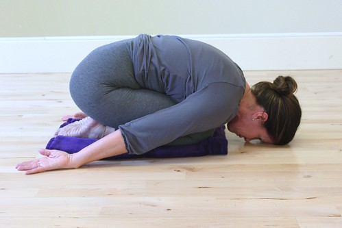 Balasana-Childs pose