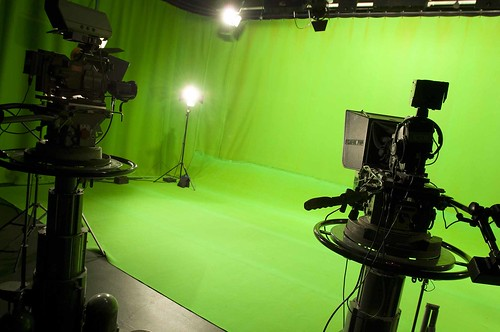 Bower Ashton Campus - green screen studio