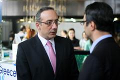 Mr. Efthimiou with Mr. Traikov
