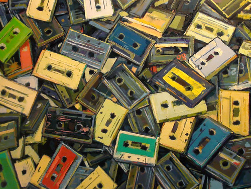 Accumulated Cassette Tapes (in progress)