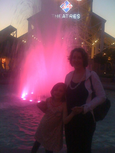 Fountain at Downtown Disney