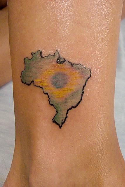 mapa do brasil brazilian map by sabrina ricci flickr photo sharing. Black Bedroom Furniture Sets. Home Design Ideas