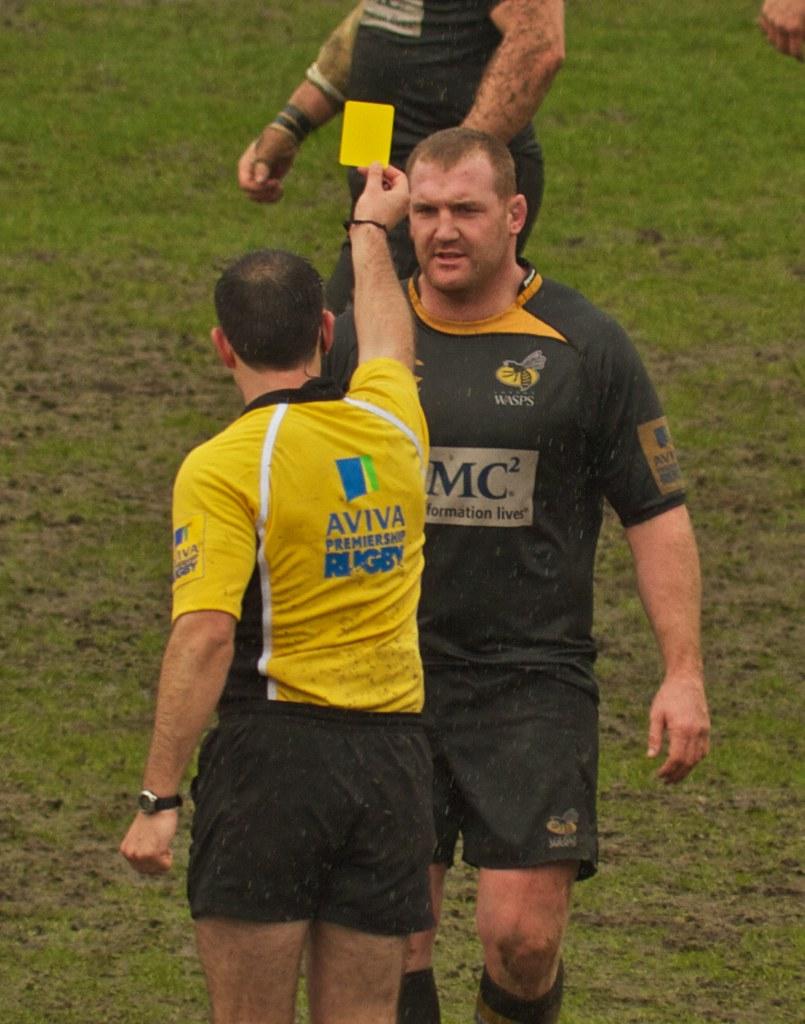 Tim Payne Yellow Card