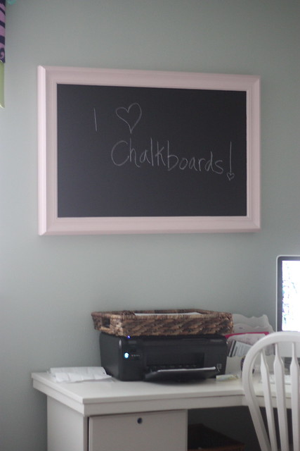 Magnetic chalkboard office6