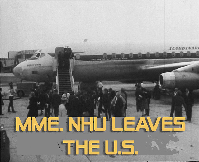 MME. NHU LEAVES THE U.S. (1)