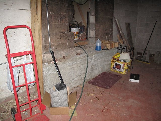 small photo of basement crawl space
