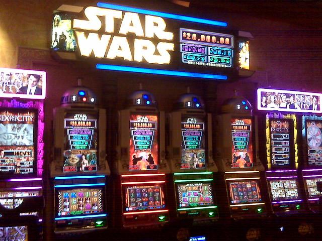 star wars slot machine online