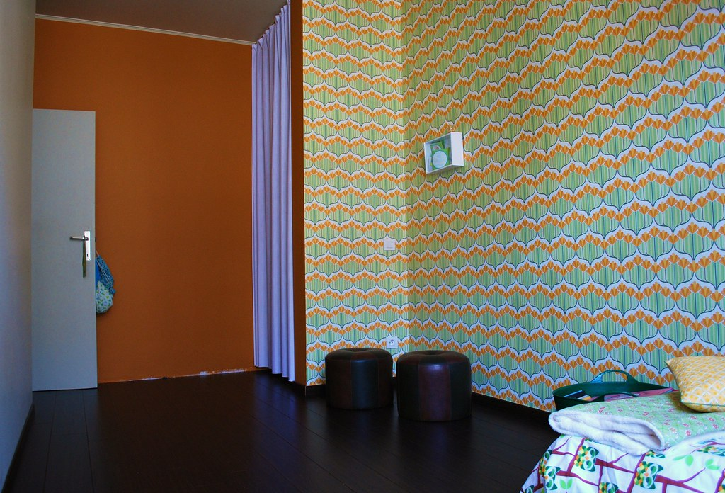 Mina dotter gordijnen een overtrek en een kale kamer - Muur kamer kind ...