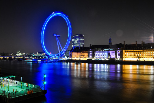 London Eye by Herbsttag88 on Flickr.  Used through Creative Commons.