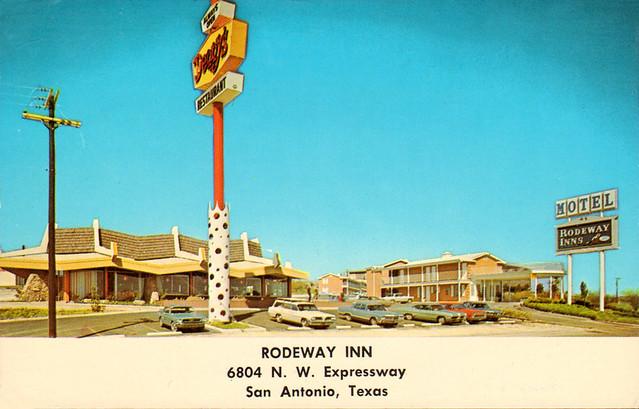 Rodeway Inn Dennys Restaurant San Antonio Tx Flickr