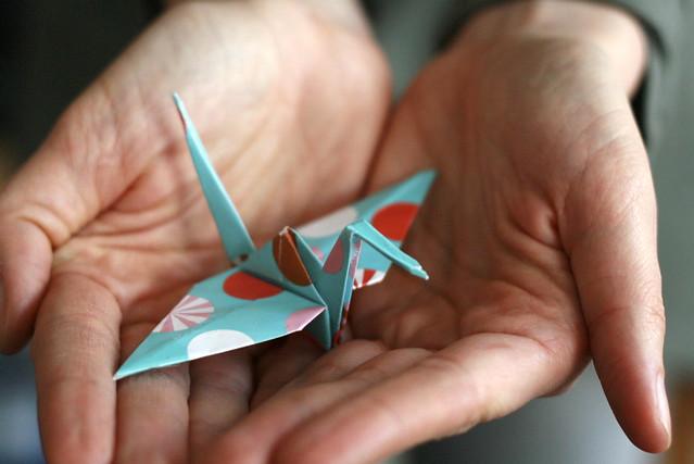 70/ 365 my crane for japan