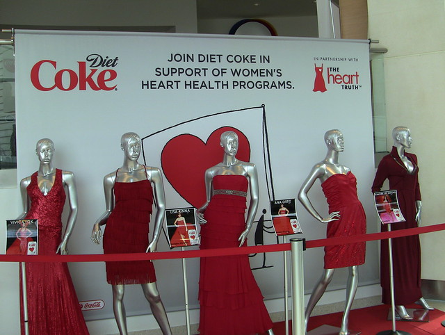 The World of Coca-Cola exhibits a high level of fashion.