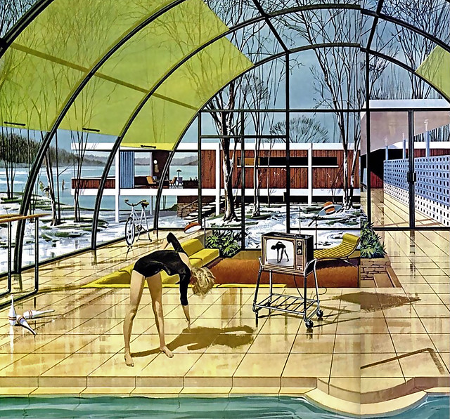 1961 ... in the solarium  - Motorola