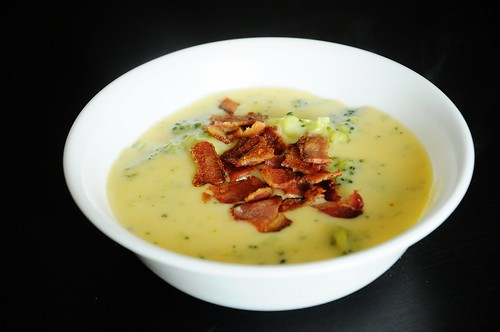 east recipes - broccoli and cheddar soup