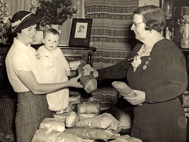 Miss Ruby Grisdale, Hamilton Red Cross, Hamilton, NSW, Australia [c.1940's]
