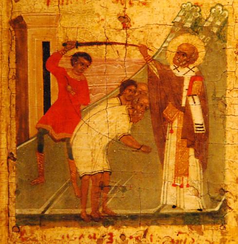 St Nicholas halts an execution