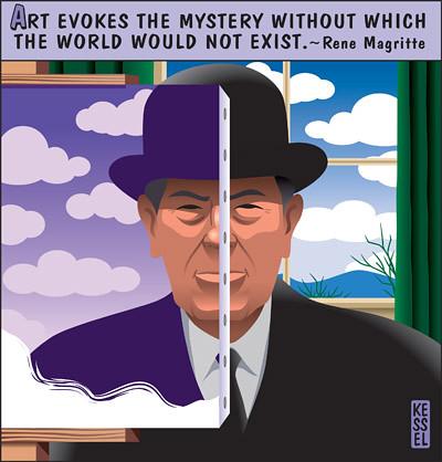 [ K ] Bob Kessel - Rene Magritte