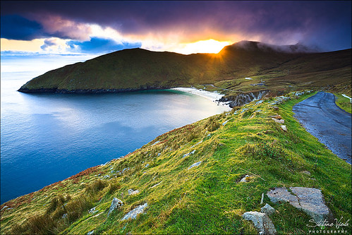 Sunset at Achill Island by Stefano Viola