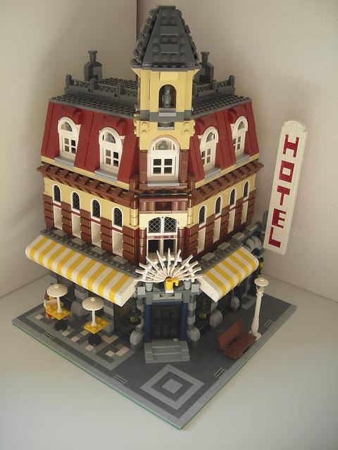 Lego Cafe Corner Review Jangbricks