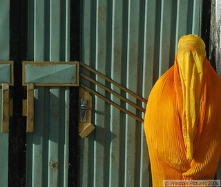 The Gates of Kabul, Yellow Burqa