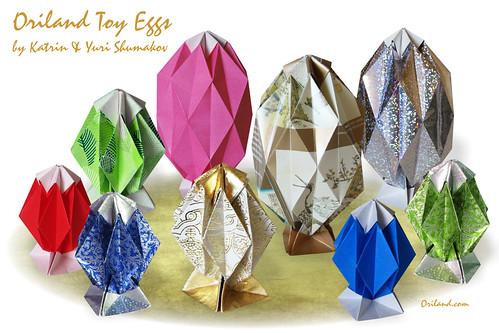 Oriland Toy Eggs