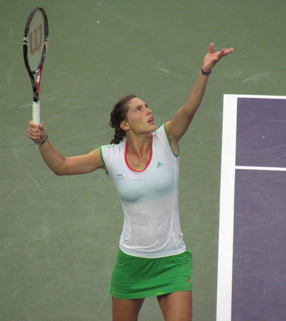 Andrea Petković hot German tennis player of Serbian origin
