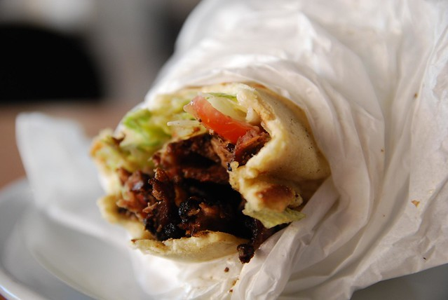 Insides - Lamb Souvlaki - Orexi Souvlaki Bar Cafe AUD9.90 | Flickr ...