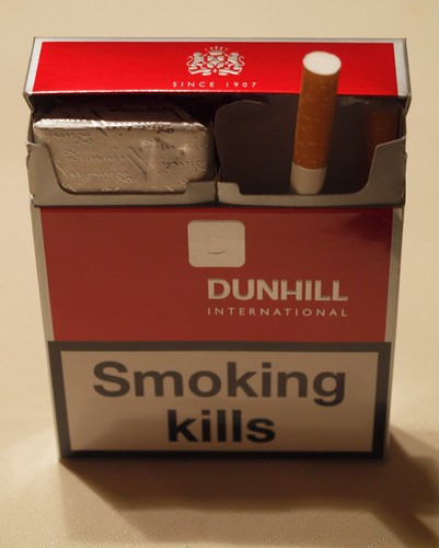 DUNHILL INTERNATIONAL, Smoking KILLS! 1.29.11